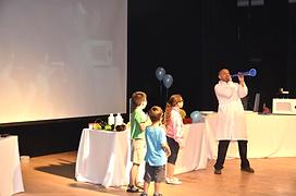 ימי הולדת, מופע מדעי, מופע לילדים