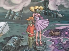 Toxic Planet : un monde parti en fumée.