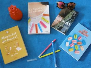 Les quatre romans qui vous occuperont cet été !