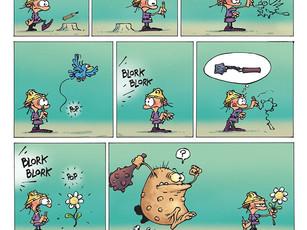 Game Over : La bande dessinée... Sans paroles !