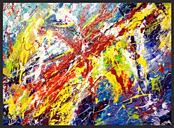 Chaotic Happiness SOLD