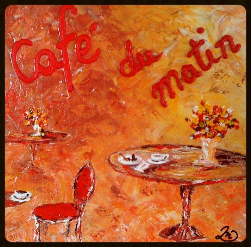 Cafe' du matin (morning coffee)