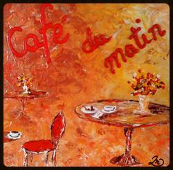 Cafe' du matin (morning coffee)