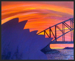 Sunset over Sydney iii