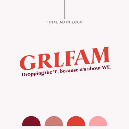 Brand Identity Design | GRLFAM