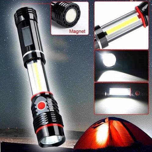 Flashlight + 24 AAA Batteries