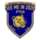 University High School Square Label PTSA