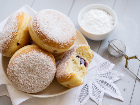 Jelly Filled Doughnuts