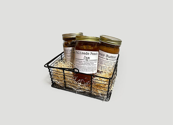 Butter Be Peach Gift Basket