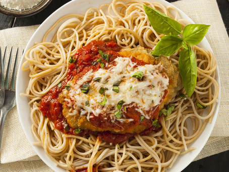 Oven Baked Chicken Parmesan