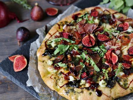 Fig Preserve Pizza