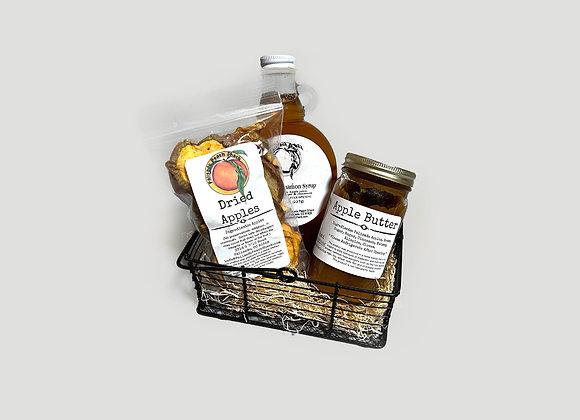 Apple Breakfast Essential Gift Basket