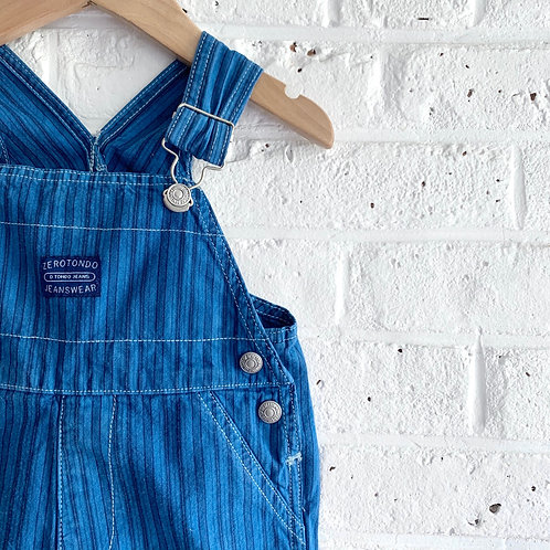 Over-dyed Engineer Stripe Shortall