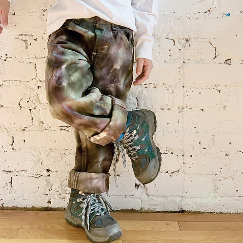 """Dark Camo"" Jeans"