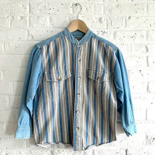 Vintage '90s Chambray Button-up