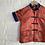 Thumbnail: Silk Mandarin Collar Top