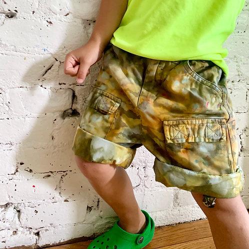 """Rusted"" Camo Shorts"