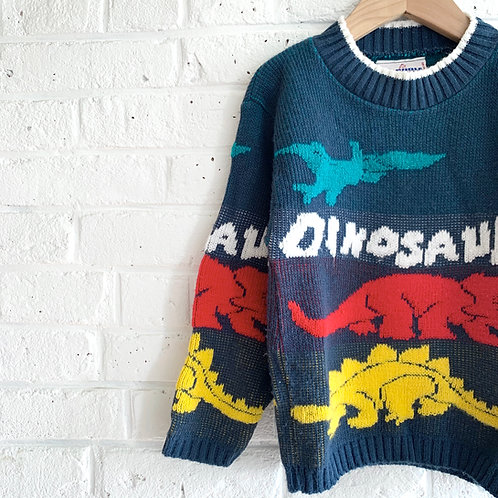 80's Vintage J.J.Poole Dino Sweater