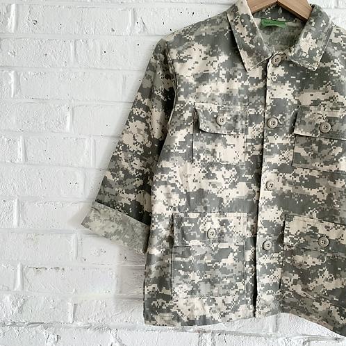 Digital Camo BDU Shirt