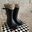 Thumbnail: Hunter Rain Boots with Knitted Sock
