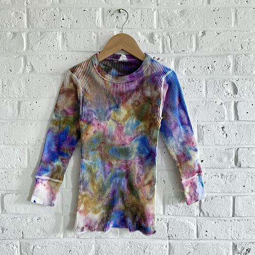"""""""Galaxy Marble"""" Tie Dye Vintage Thermal"""
