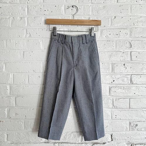 Creased Herringbone Trousers