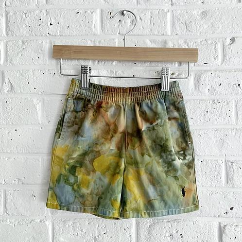 """Rusted Camo"" Polo Shorts"