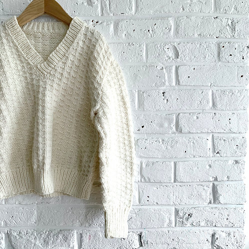 Fisherman Style Sweater