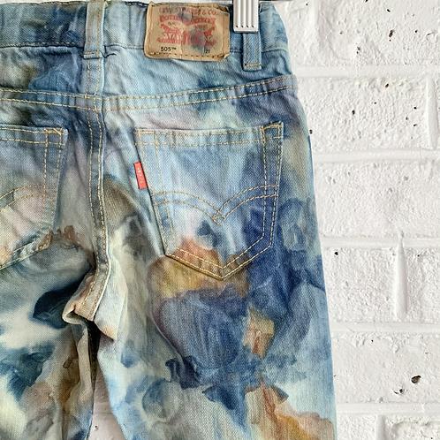 """""""Desert Blooms"""" Tie Dye Jeans"""