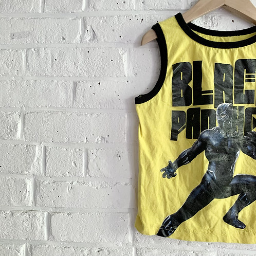 Black Panther Muscle Tank