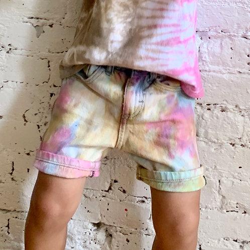 Tie Dye Wrangler Shorts