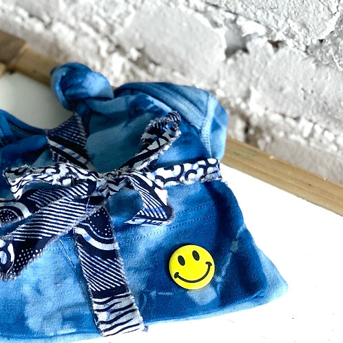 Indigo Dyed Infant Set