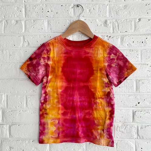 Acid Sunset Tie Dye Tee