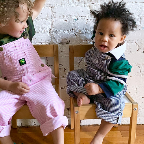 Bout' Chou Engineer Stripe Overall