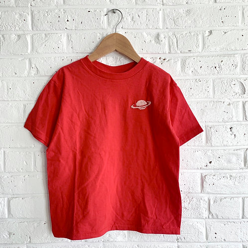 Mini Saturn Embroidered Tee