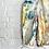 "Thumbnail: Tie Dyed Vintage ""Monet's Garden"" Overall"