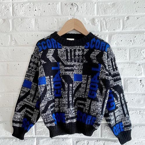 "Vintage 90s' ""GOAL"" Sweater"