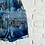 "Thumbnail: Tie Dye ""Deep Ocean"" Shortall"