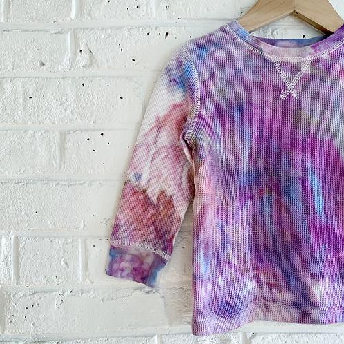 """""""Pastel Skies"""" Tie Dye Thermal"""