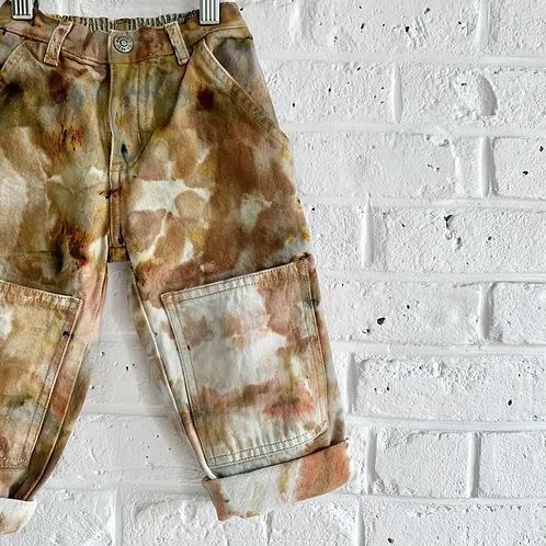 """Rust Camo"" Vintage Jeans"
