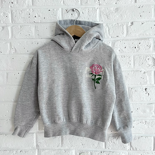 Embroidered Rose Hoodie