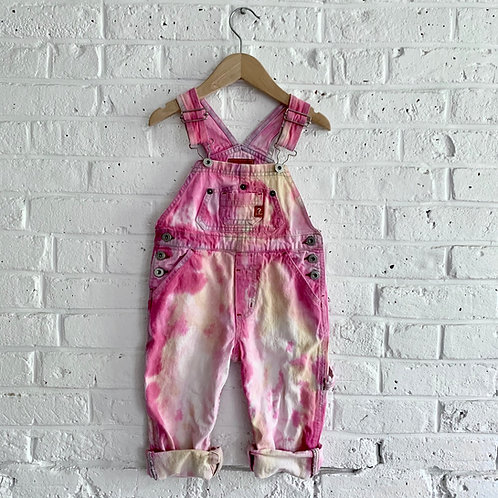 """Tie Dye """"Rose Quartz"""" Guess Overall"""