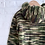 Thumbnail: Hand Knit Camo Hoodie