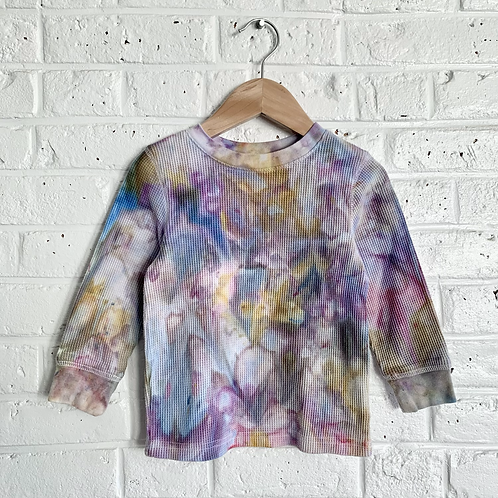"""Pastel Skies"" Tie Dye Thermal"