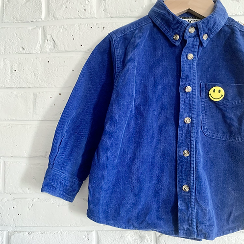 Vintage Cord Button-up