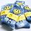 Thumbnail: Indigo Smile Tie Dye Socks
