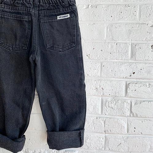 Vintage Faded Black Jeans