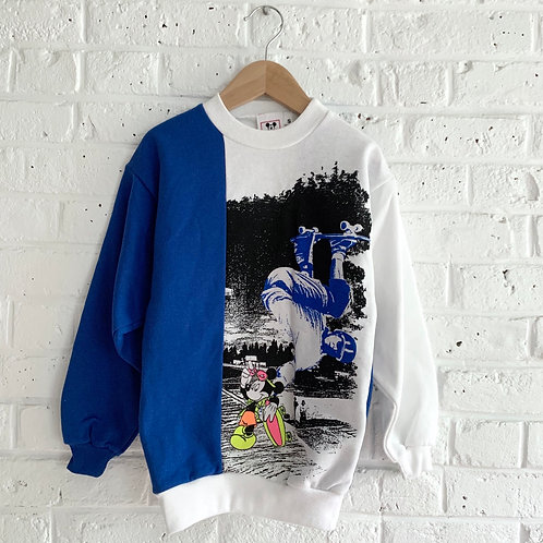 Vintage Pieced Mickey Sweatshirt
