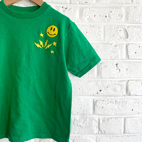 """""""Smile Cluster"""" Embroidered Tee"""