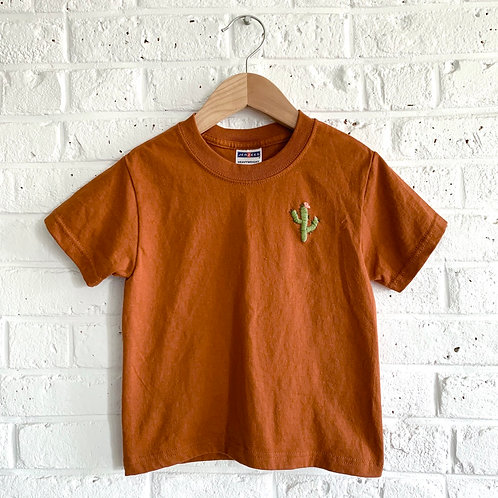 Mini Cactus Embroidered Tee
